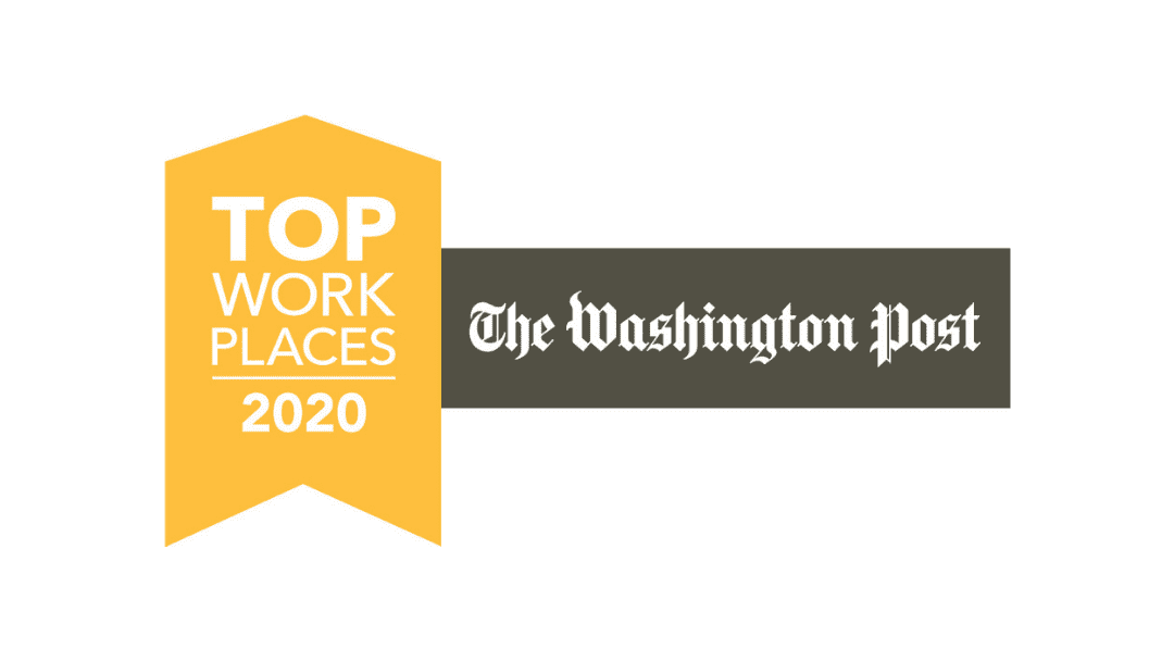 Washington Post Top Workplace 2020