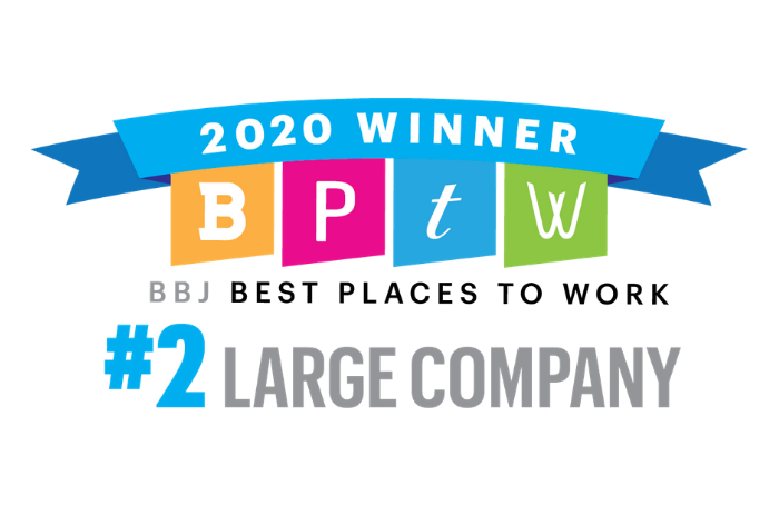 BBJ Best Places to Work 2020