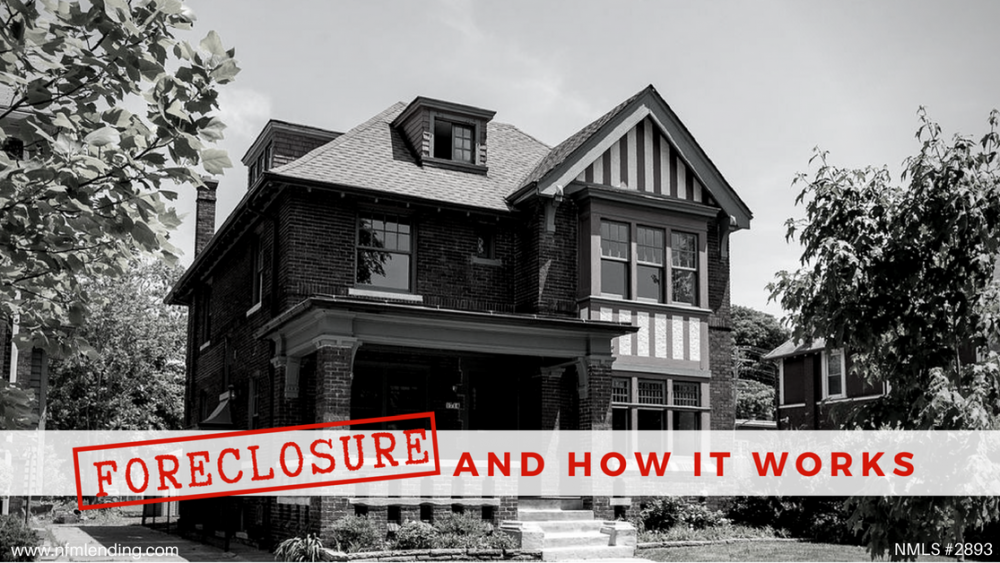 Foreclosure and how it works