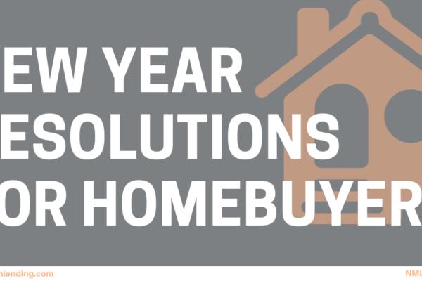 Homebuying Resolutions Blog Image