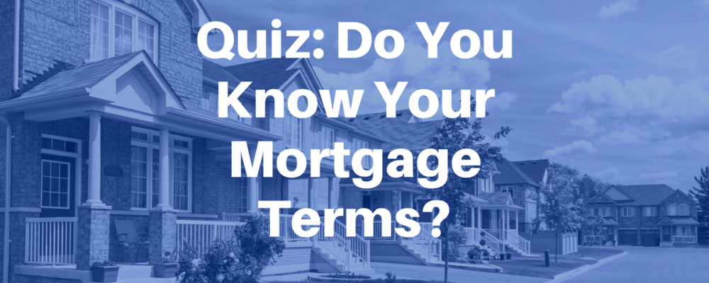 Mortgage Terms Image