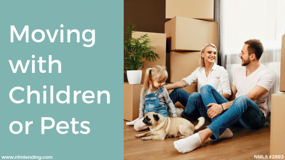 Moving with Children or Pets