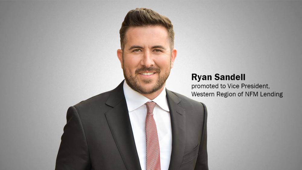 Ryan Sandell, VIce President Western Region