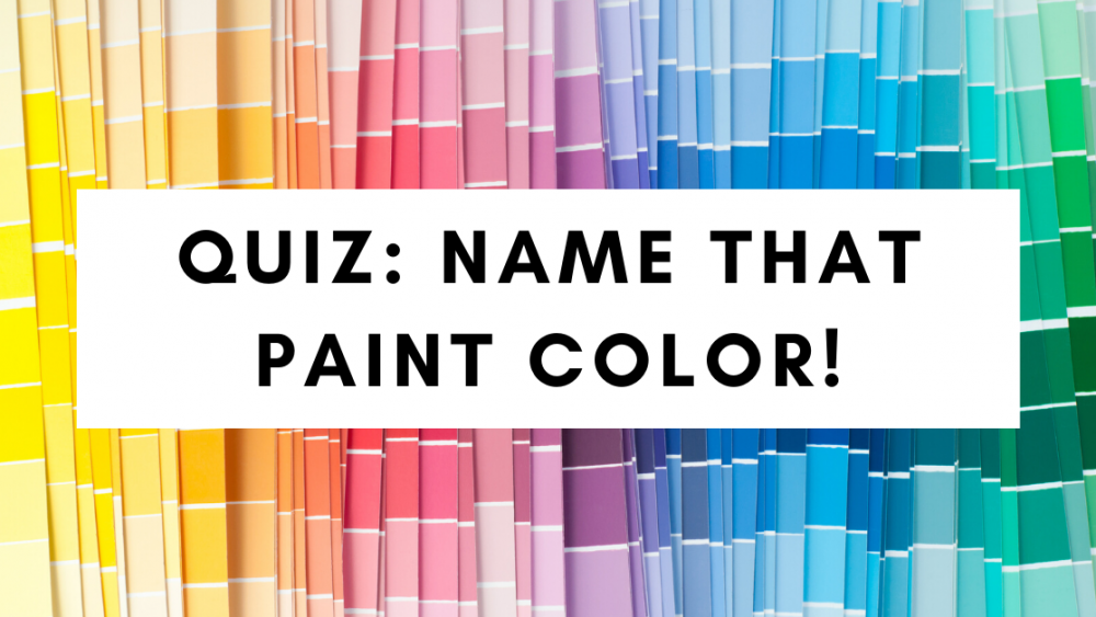Paint Color Quiz