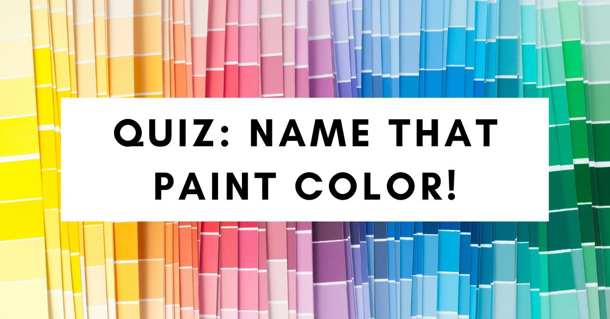 Paint Color Quiz