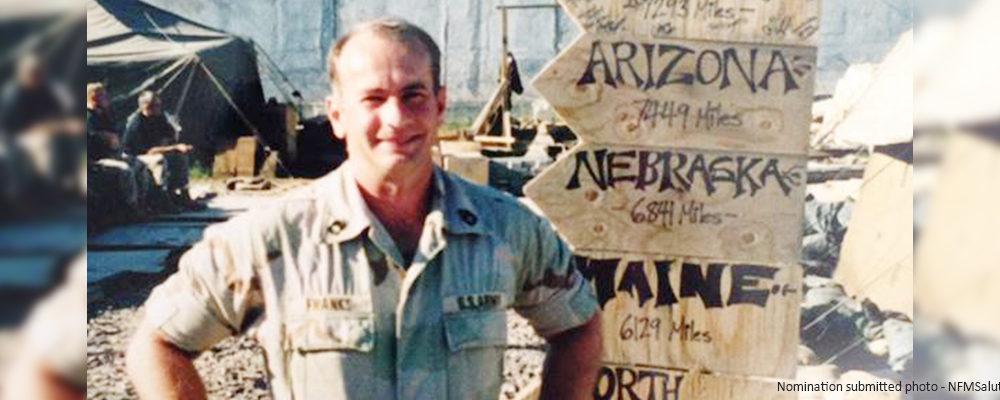 Master Sergeant Paul Franks