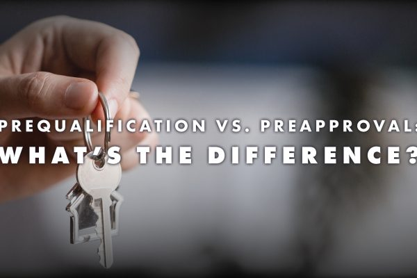 Prequalification vs. Preapproval