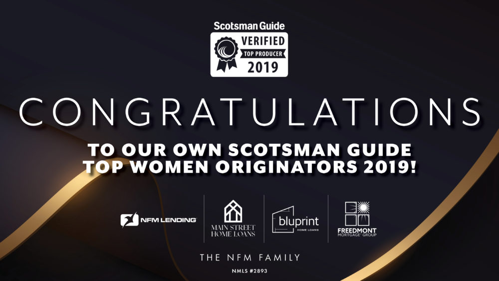 Top Women Originators 2019