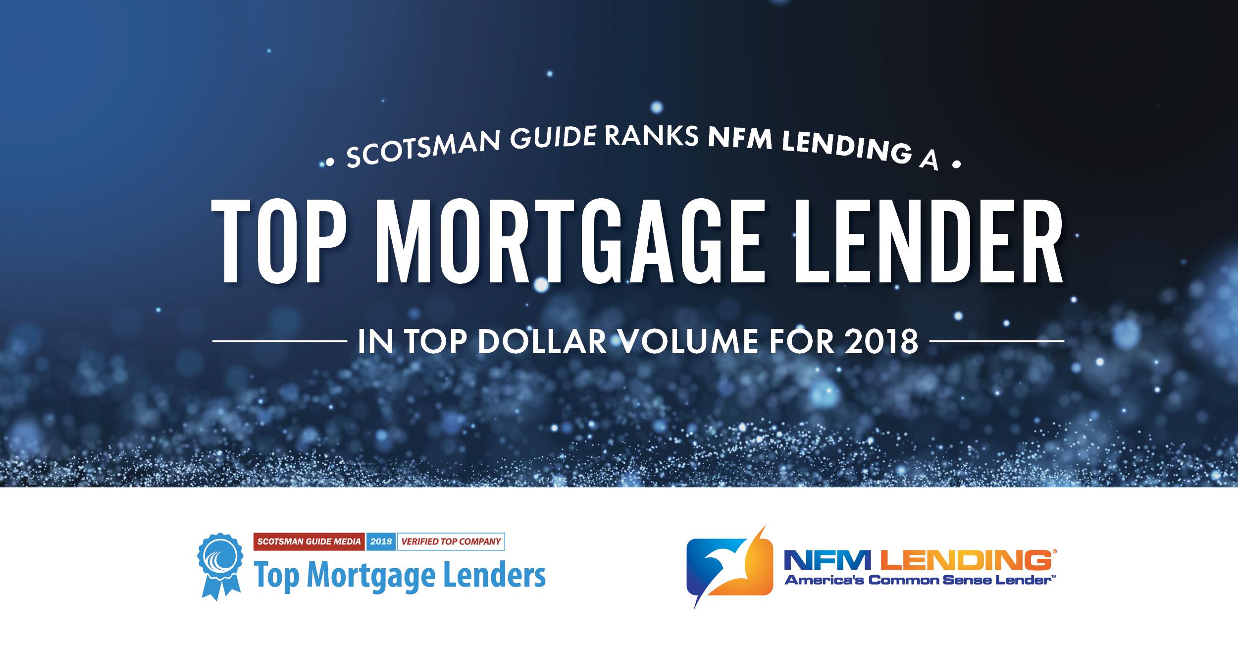 Top Mortgage Lenders 2018