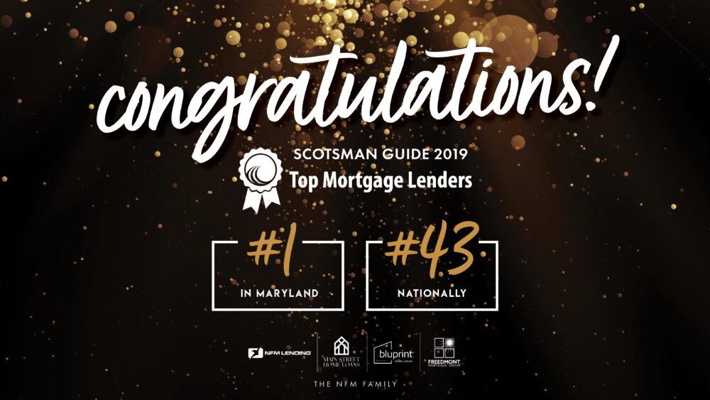 Top Mortgage Lenders 2019