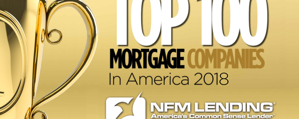 Top 100 Mortgage Companies in America 2018