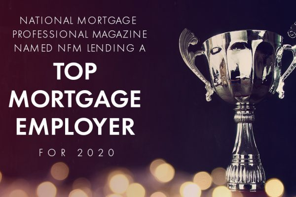 NFM Lending Named a Top Mortgage Employer 2020