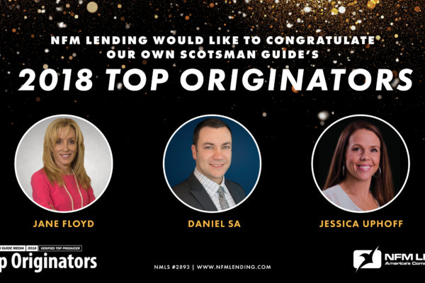 Top Originators 2018