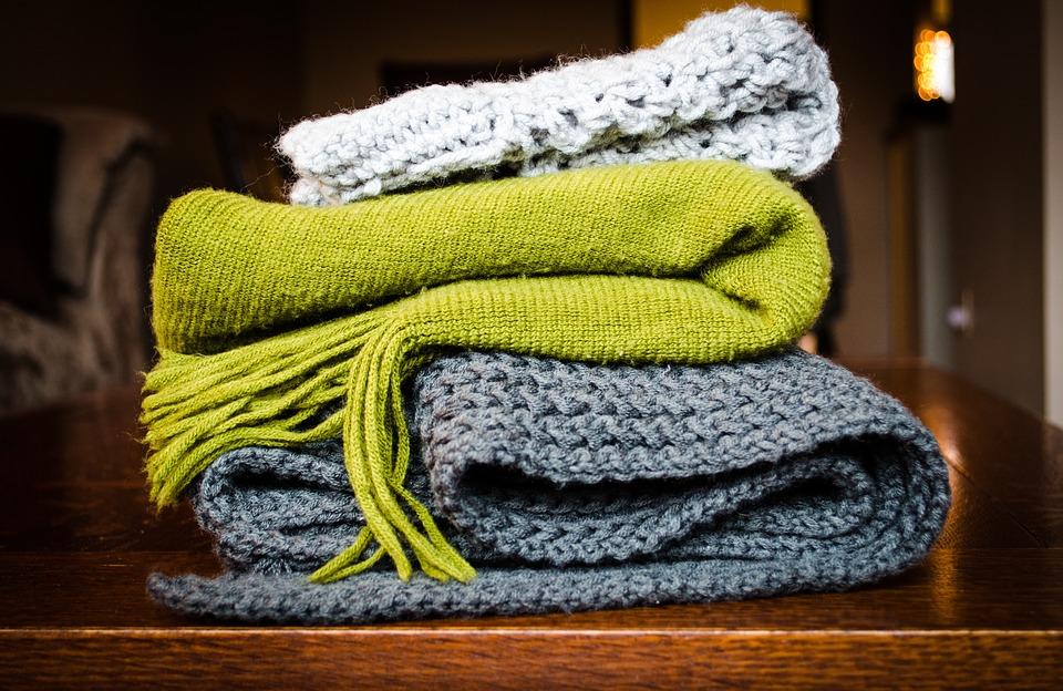 Use blankets in Winter